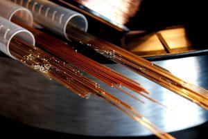 DIM Laserlasdraden op spoelen en als staven
