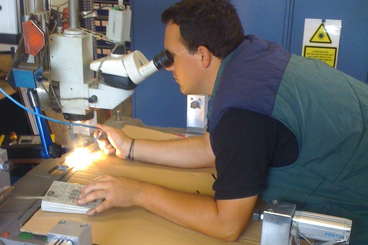 DIM fios para soldadura a laser moldes