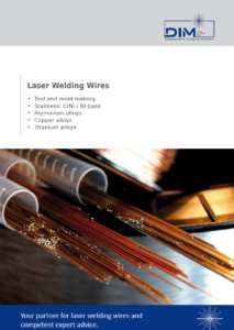 DIM Laser Welding Wires catalog