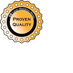 Qualitätssiegel DIM International Laserschweißdrähte